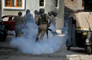 Kashmir unrest, Srinagar