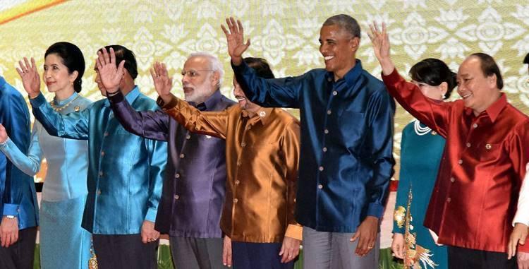 Narendra Modi, ASEAN Summit, Vientiane, Laos