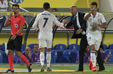 Football, Real Madrid, Cristiano Ronaldo, Zinedine Zidane