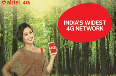Airtel India, Airtel 4G