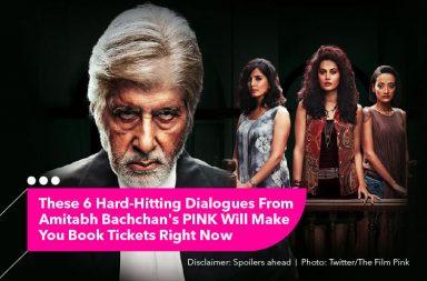 Amitabh Bachchan, Pink
