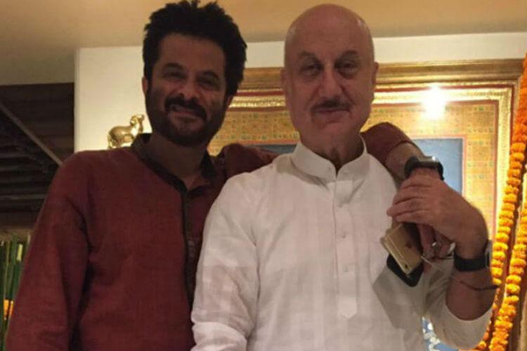 Anil Kapoor, Anupam Kher, Ganesh Chaturthi, Anupam Kher Twitter image