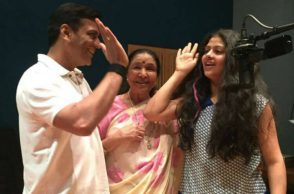 Asha Bhosle, Asha Bhosle Twitter image