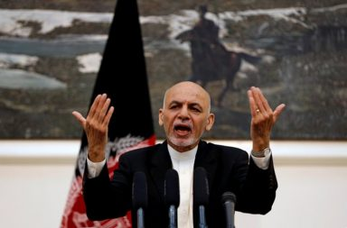 Ashraf Ghani, Afghanistan