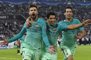 Football, Barcelona, Borussia Moenchengladbach