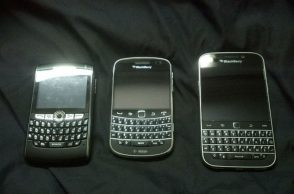 Blackberry, Blackberry Bold, Blackberry curve
