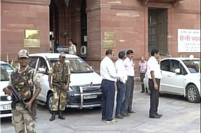Officials ahead of all-party meet, New Delhi