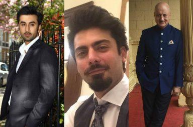 Fawad Khan, Ranbir Kapoor, Anupam Kher