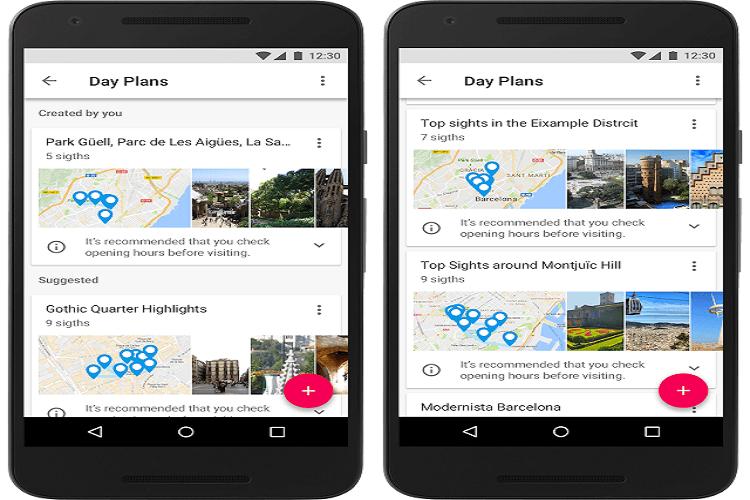 Google, Google Trips
