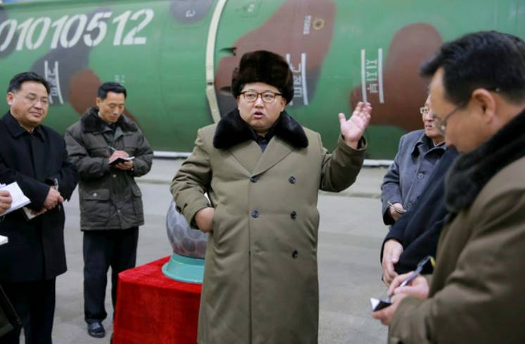 Kim Jong Un, North Korea, Nuclear test, missile inspection