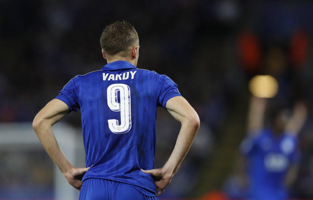 Football, Leicester City, Premier League, Jamie Vardy