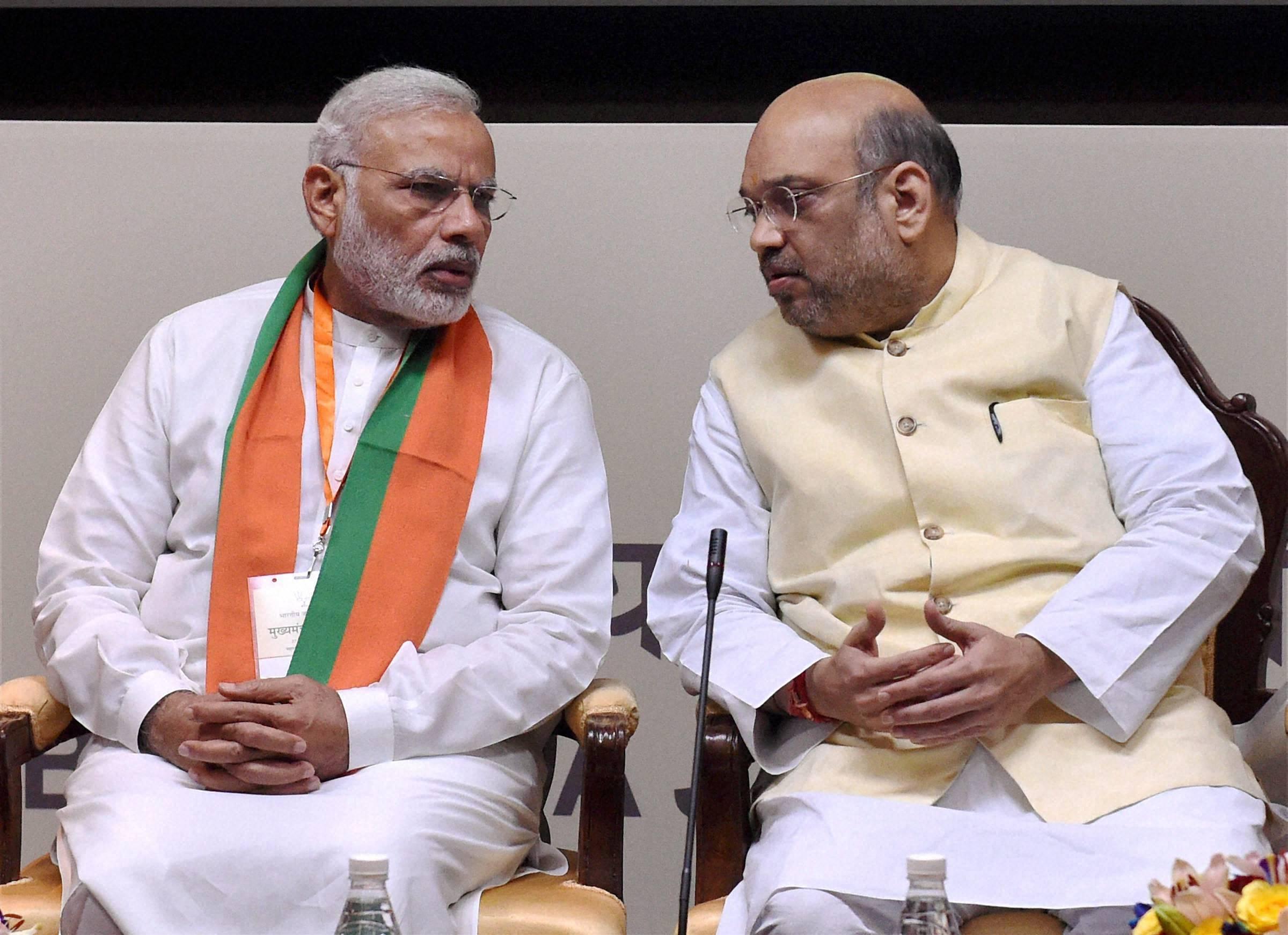 Narendra Modi, Amit Shah, New Delhi