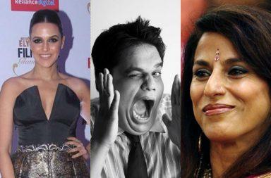 Shobha De, Tanmay Bhat, Neha Dhupia