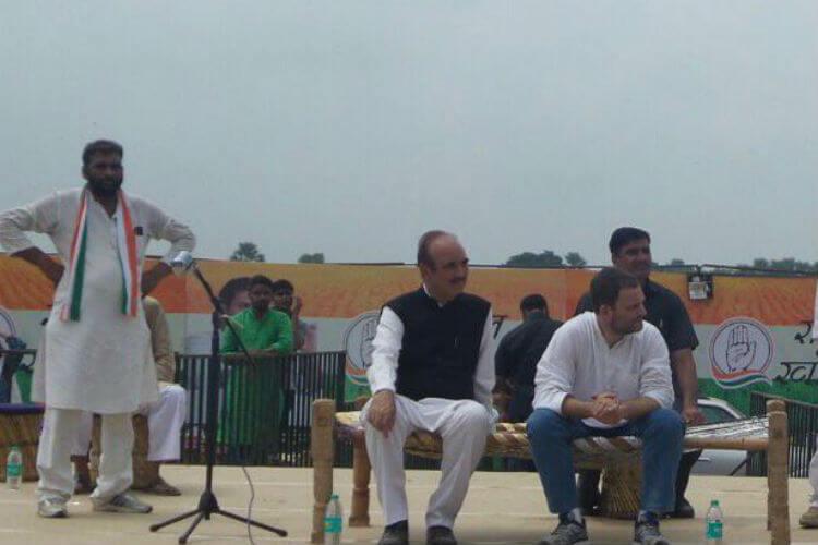Rahul Gandhi, Khat Sabha, Uttar Pradesh, Rahul Gandhi Twitter image