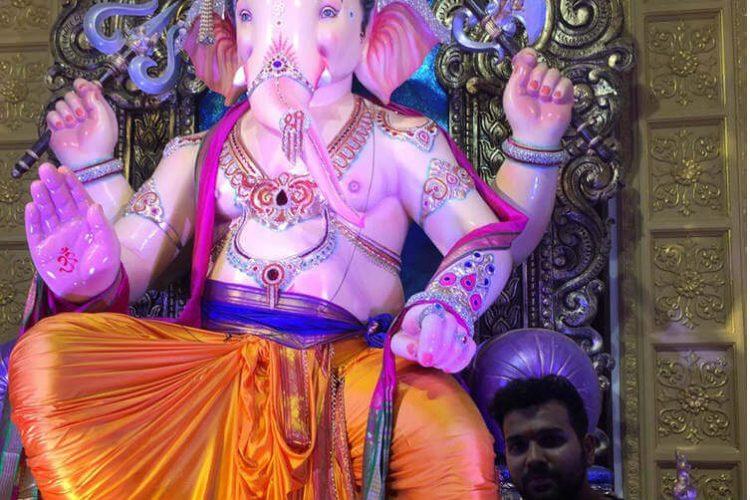 Rohit Sharma, Ganesh Chaturthi, Rohit Sharma Twitter image