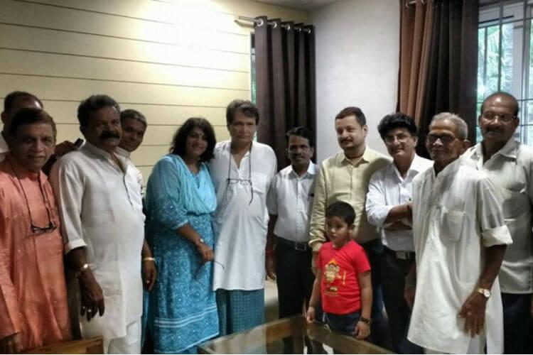 Suresh Prabhu, Ganesh Chaturthi, Suresh Prabhu Twitter image