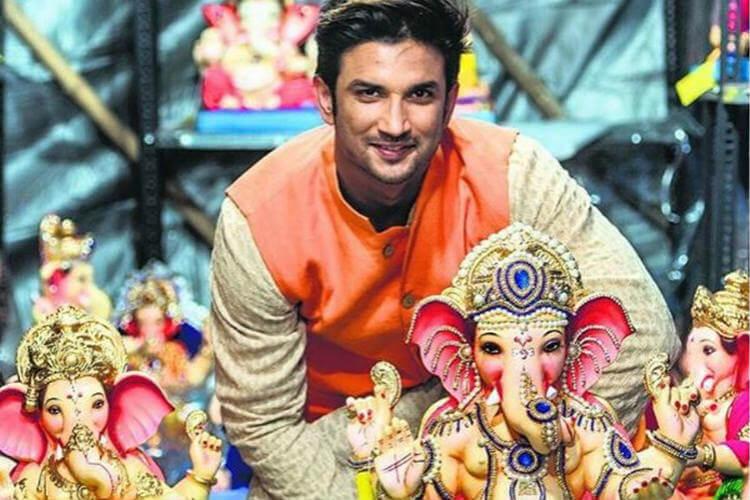 Sushant Singh Rajput, Ganesh Chaturthi, Sushant Singh Rajput Instagram image