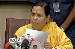 Uma Bharti, BJP