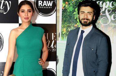 Fawad Khan, Mahira Khan IANS photos for InUth dot com