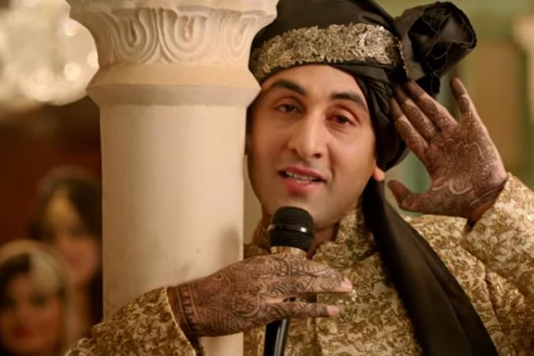 Ranbir Kapoor in Ae Dil Hai Mushkil YouTube screen grab for InUth.com