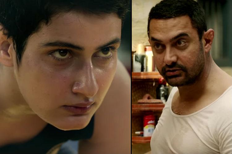 Aamir Khan Dangal screen shot YouTube image for InUth.com
