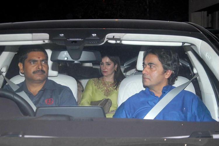 Aamir Khan's Diwali bash IANS photo for InUth.com