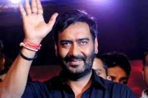 Ajay Devgn promoting Shivaay in Delhi IANS photo for InUth.com