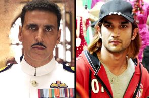 Akshay Kumar in Rustom, Sushant Singh Rajput in MS Dhoni: The Untild Story movie still for InUth.com