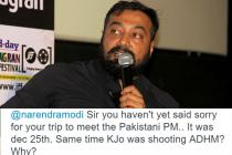Anurag Kashyap's tweets questioning PM Narendra Modi heat up the ADHMrow