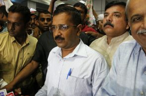 File photo of Delhi Chief Minister Arvind Kejriwal (Photo: PTI)