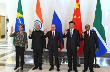 File photo of Prime Minister Narendra Modi with other world leaders at 2015 BRICS Summit (Photo: Reuters/ Mikhail Klimentyev/RIA Novosti/Kremlin)