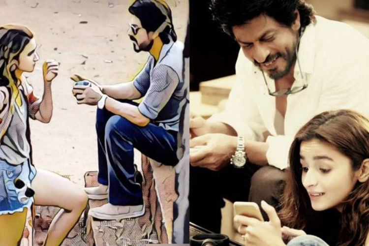 Shah Rukh and Alia Bhatt's 'Dear Zindagi' First look is captivating