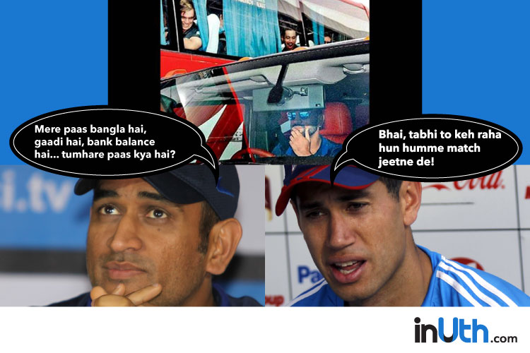 MS Dhoni, Ross Taylor