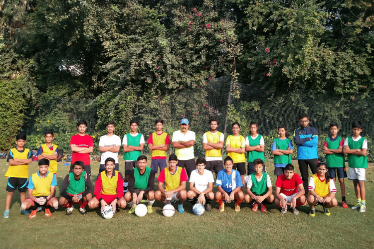 Om Prakash Chhibber, Eves Soccer Academy, football