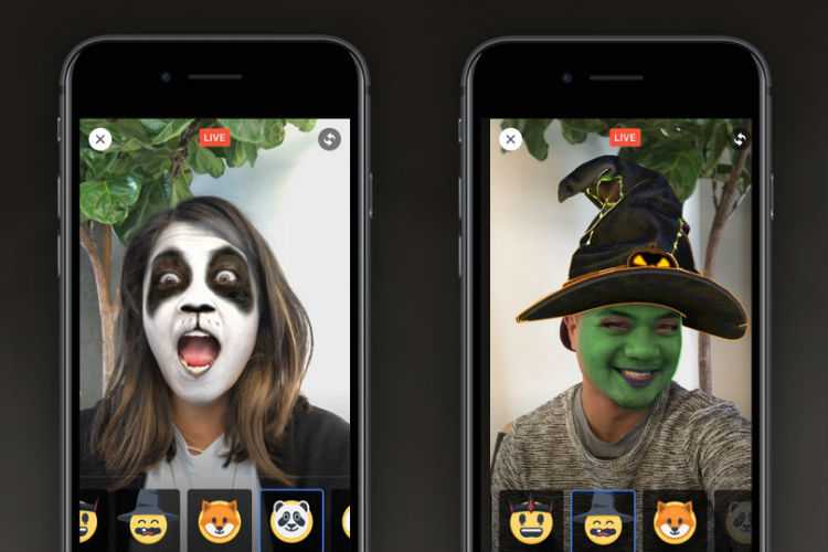 Facebook Live introduces spooky filters for Halloween