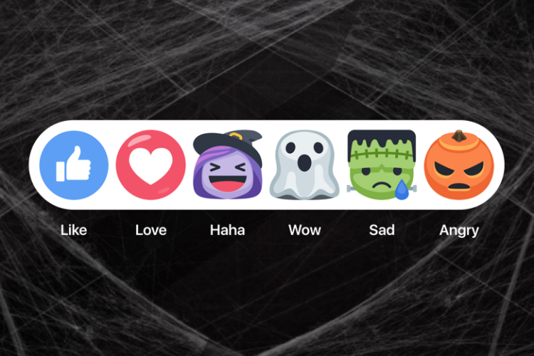 Facebook Reactions, Halloween