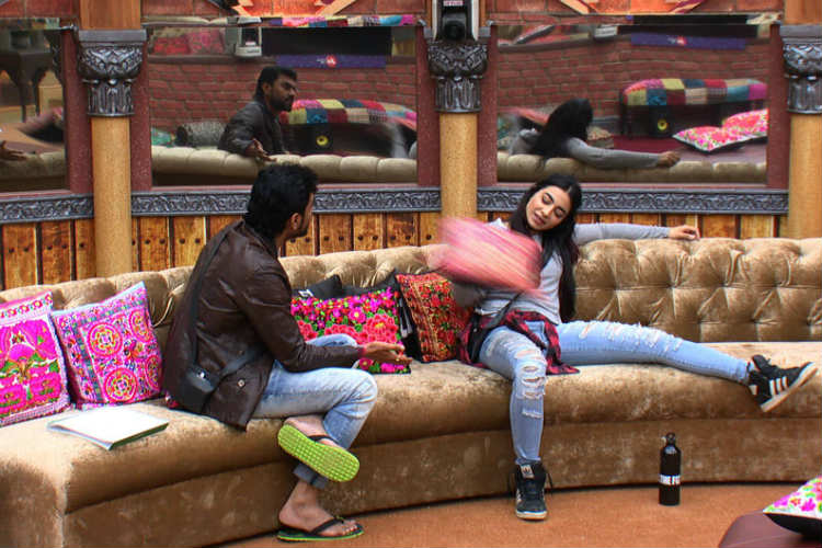 Gaurav Chopra and VJ Bani in Bigg Boss 10 Colors TV photo for InUth.com