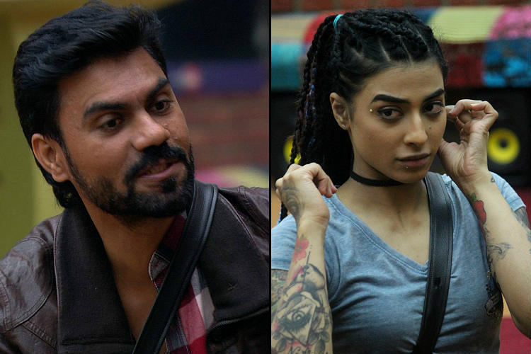 Gaurav Chopra and VJ Bani in Bigg Boss 10 Colors TV photos for InUth.com