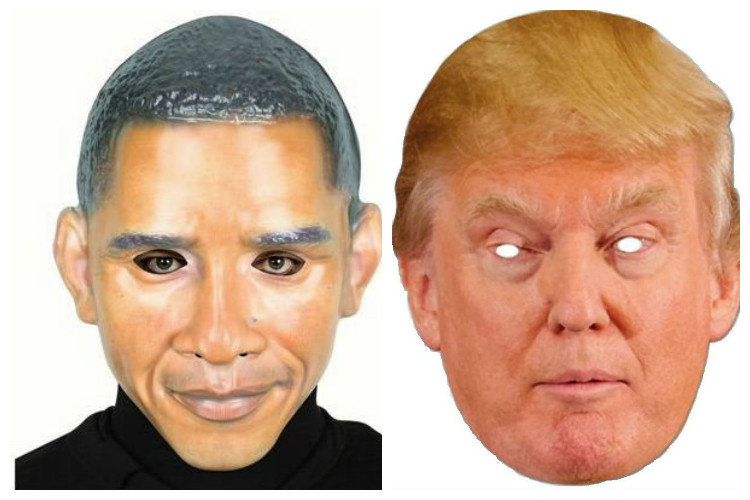 Obama or Trump, who are you going to be this Halloween?
