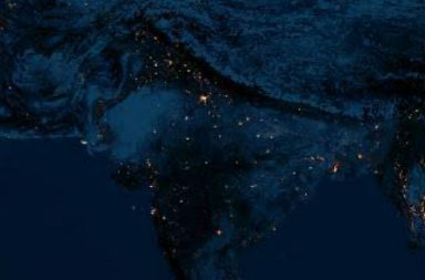 India Diwali Night Sky | Image For InUth.com