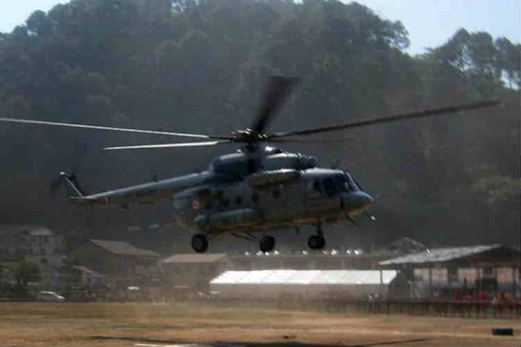 Army chopper crashes during drill in Uttarakhand