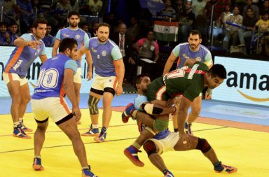 Indian Kabaddi Team (Courtesy: PTI Photo)