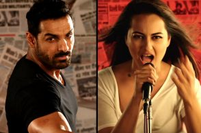 John Abraham, Sonakshi Sinha in Force 2 YouTube screen grab for InUth.com