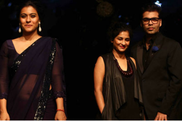 Kajol Karan Johar | Indian Express Image For InUth.com