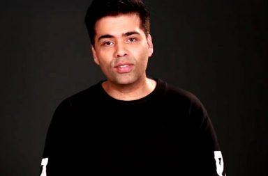 Karan Johar video new screen shot for InUth dot com