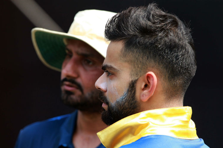 You must read Virat Kohli's blunt reply to Harbhajan Singh's swipe on Indian pitches