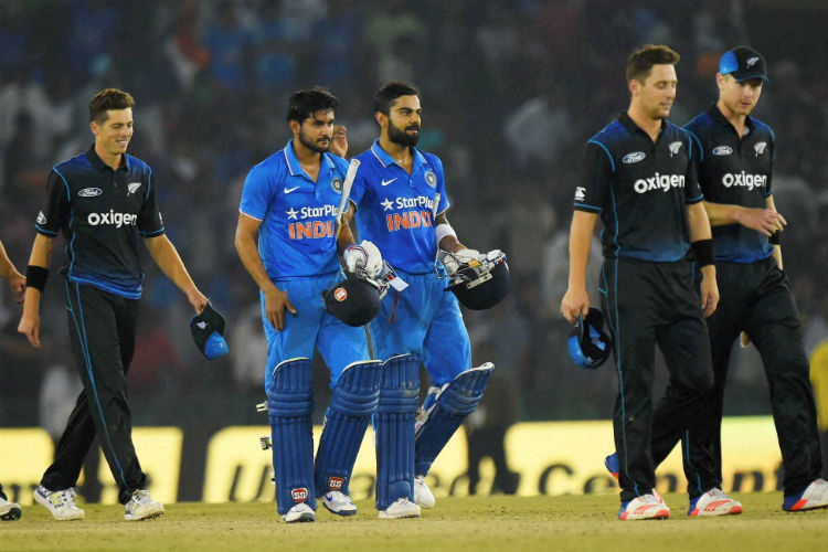 Mohali ODI: Kohli's 154 aides India to defeat New Zealand by 7wickets