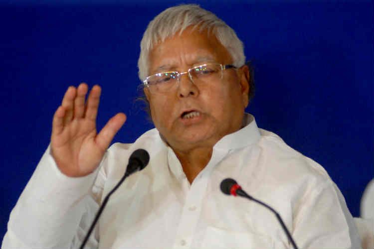 Lalu says Rabri forced RSS to change dress code!