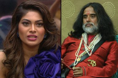 Lopamudra Raut and Swami Om in Bigg Boss 10 Colors TV photo for InUth.com