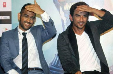 MS Dhoni, Sushant Singh Rajput Express photo for InUth.com